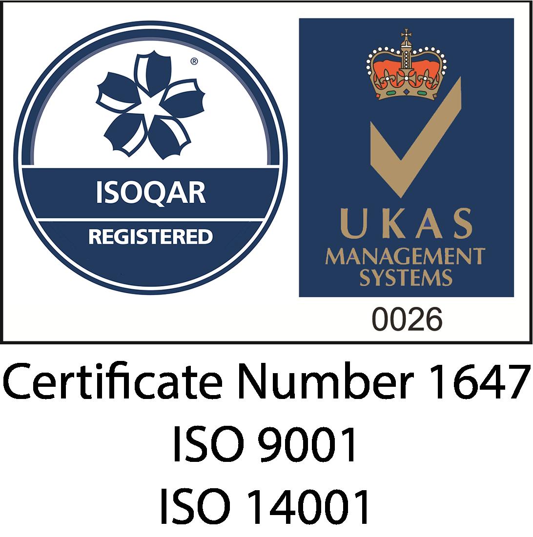 ISOQAR UKAS Registered