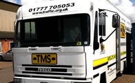 TMS Mobile Communications Unit Service Photo