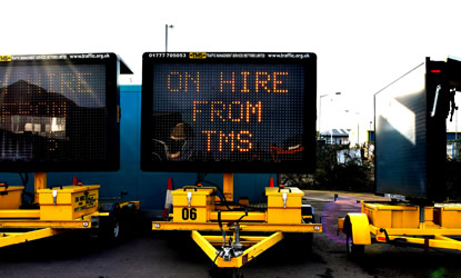 TMS Variable Message Signs