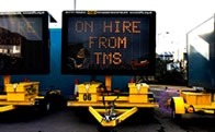 TMS Variable Message Sign Service Photo